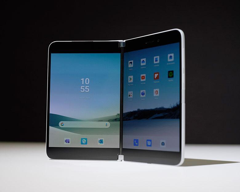 مایکروسافت سرفیس دوئو معرفی گردید: گوشی تاشو اندرویدی با طراحی بی نظیر و دو صفحه نمایش مجزا