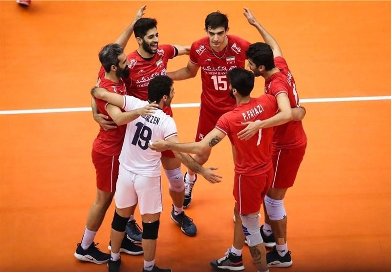 رده بندی جدید فدراسیون جهانی والیبال، والیبال ایران در رده هشتم