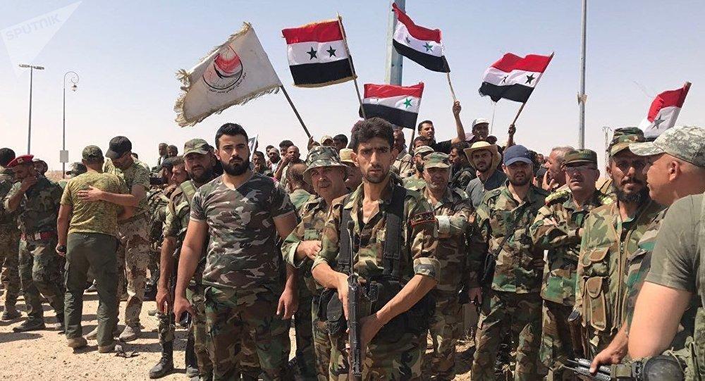 کنترل کامل منبج به دست ارتش سوریه افتاد