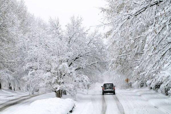 کاهش دما ، بارش برف و باران در بیشتر مناطق کشور