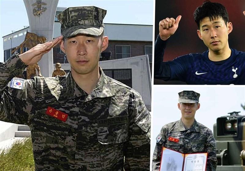 ستاره کره ای تاتنهام دوره سربازی اش را به پایان برد