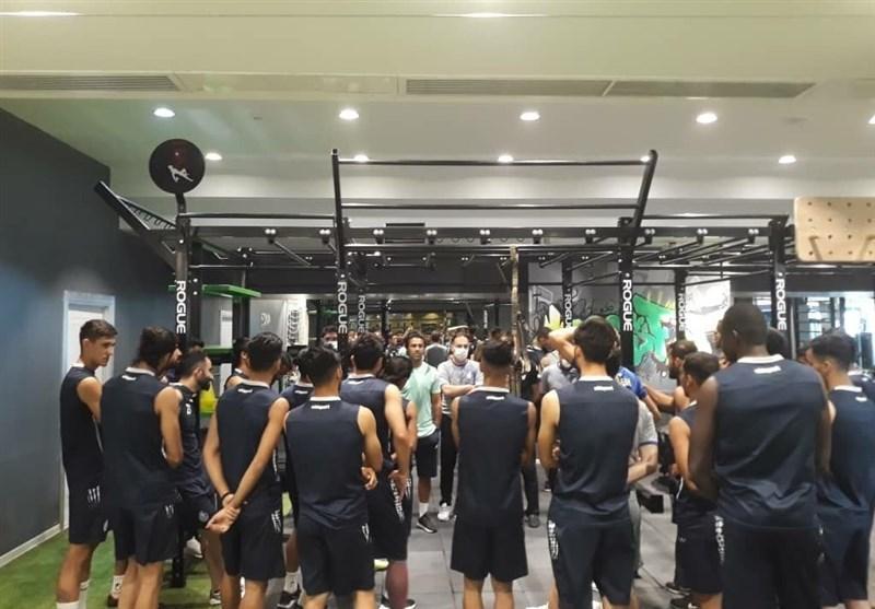 گزارش تمرین استقلال، بازگشت دیاباته و تشکر مجیدی از بازیکنان
