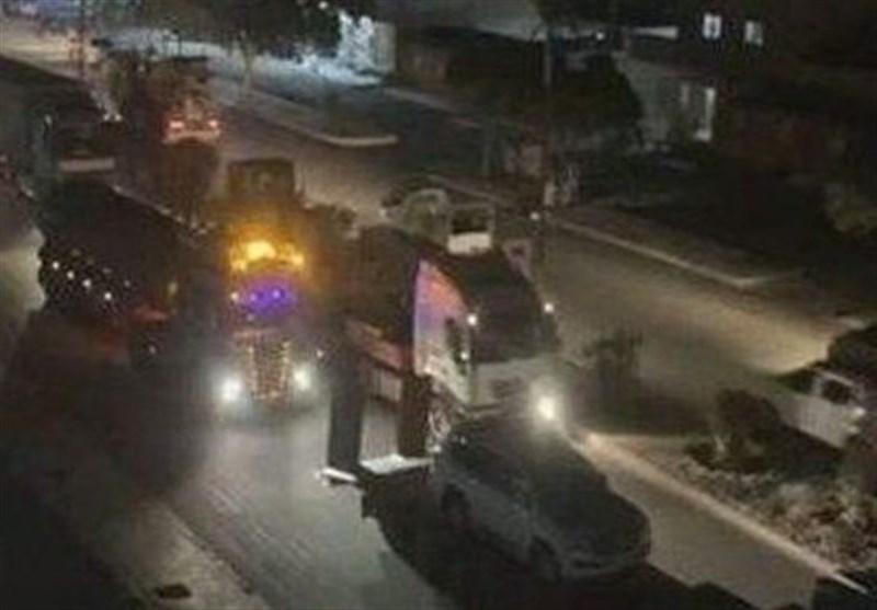 غارت منابع نفتی سوریه توسط ارتش تروریستی آمریکا؛40 تانکر در یک روز