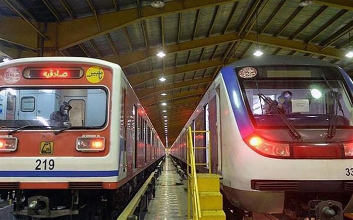 ضدعفونی ایستگاه ها و واگن های مترو ادامه دارد