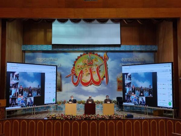 خبرنگاران دوره آموزشی مجریان انتخابات 1400 در حرم عبدالعظیم (ع) برگزار گردید