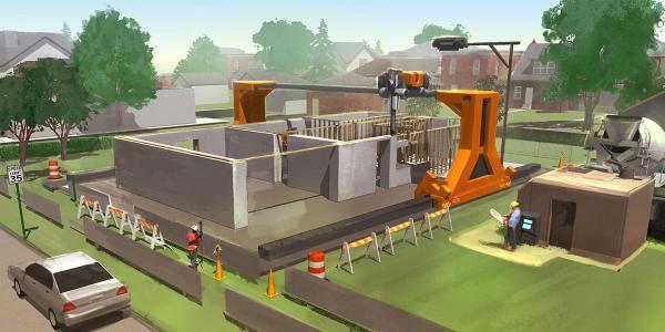 پرینتر سه بعدی ساخت خانه ؛ از نحوه کار تا آینده آن