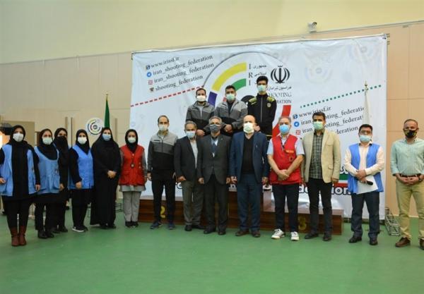 قهرمانی زود هنگام سپاهان در لیگ برتر تپانچه بادی مردان