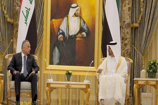 رایزنی نخست وزیر عراق با ولیعهد امارات درباره موضوعات منطقه
