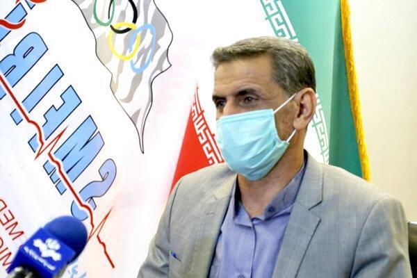 غلامرضا نوروزی: از همه المپین ها تست سریع کرونا گرفته خواهد شد